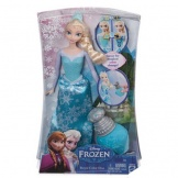 Frozen Anna of Elsa Royal Colour Doll