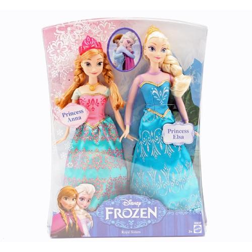 Pop Disney Frozen Anna en Elsa Mattel