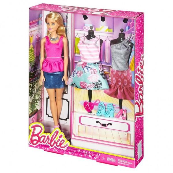 Barbie met kleding voordelig online kopen for Barbiehuis aanbieding