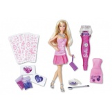 Barbie glitterzuiger pop