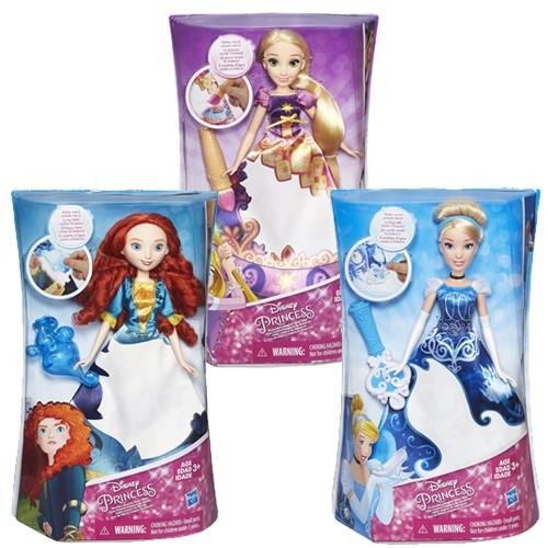 Disney Princess Prinses met magische jurk