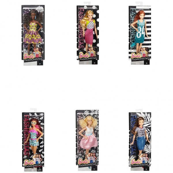 Barbie Fashionistas pop