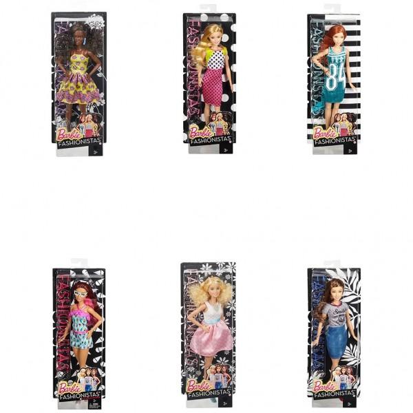 Barbie Fashionistas pop