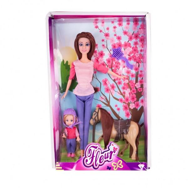 Pop Fleur met Pony
