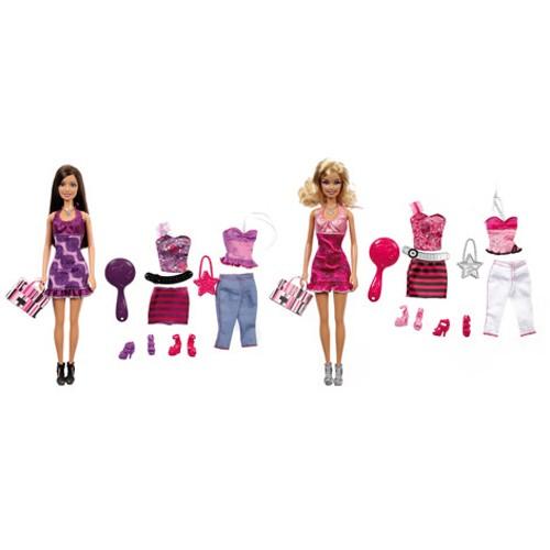 Barbie pop met extra kleding