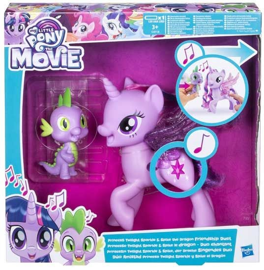 My Little Pony Movie Twilight Sparkle & Spike