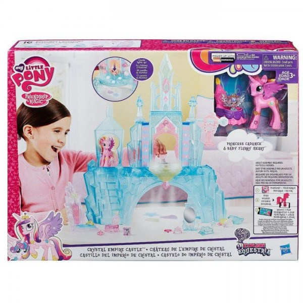 My Little Pony Kristallen Speelkasteel voor €17,95