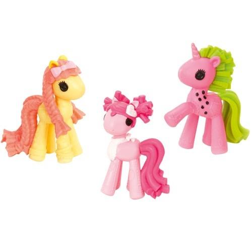 Lalaloopsie Ponies 3-pack