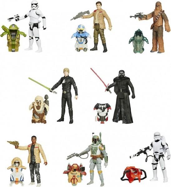 Star Wars Episode VII Armor Pack figuren