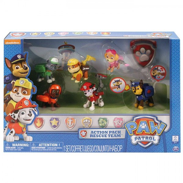 Paw Patrol Action Pack Gift Set