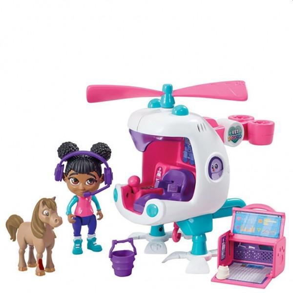 Vet Squad Helikopter met Robin