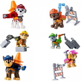 Paw Patrol Ultimate Construction Rescue Action Pack Pups