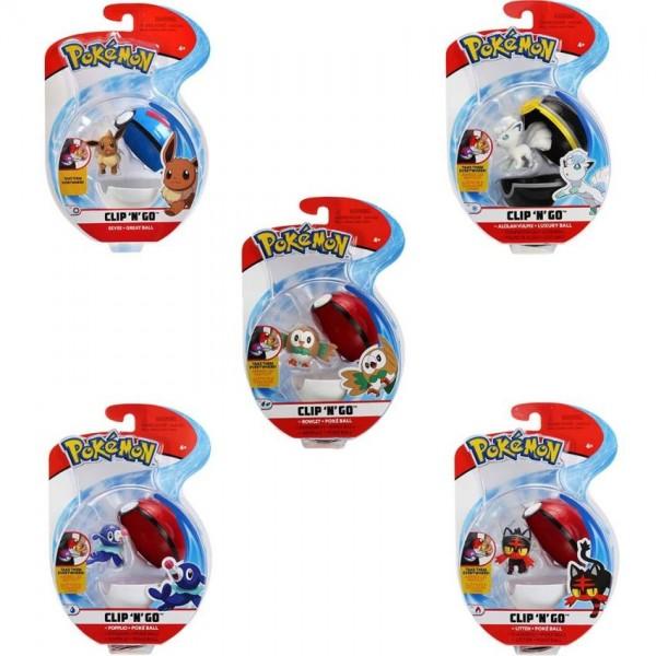 Pokémon wave 2 Clip n Go