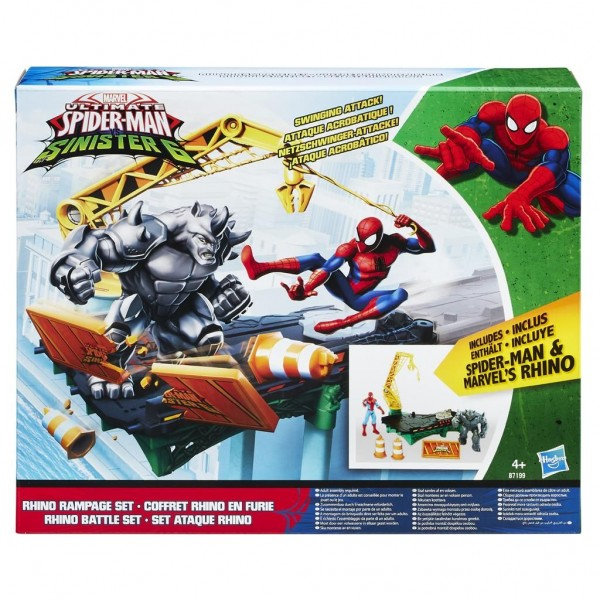 Spiderman Sinistere Zes Bridge Battle Set