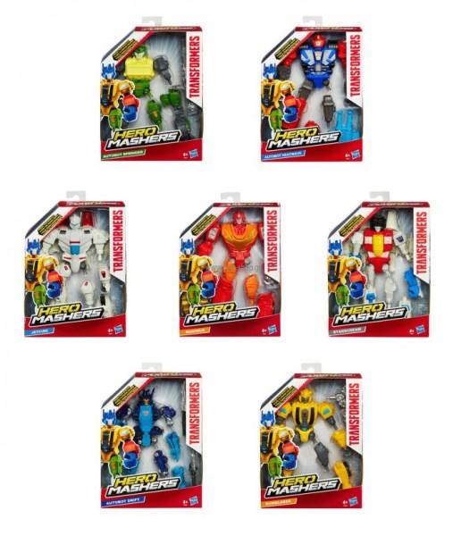 Actiefiguur Transformers Hero Mashers figuur Hasbro
