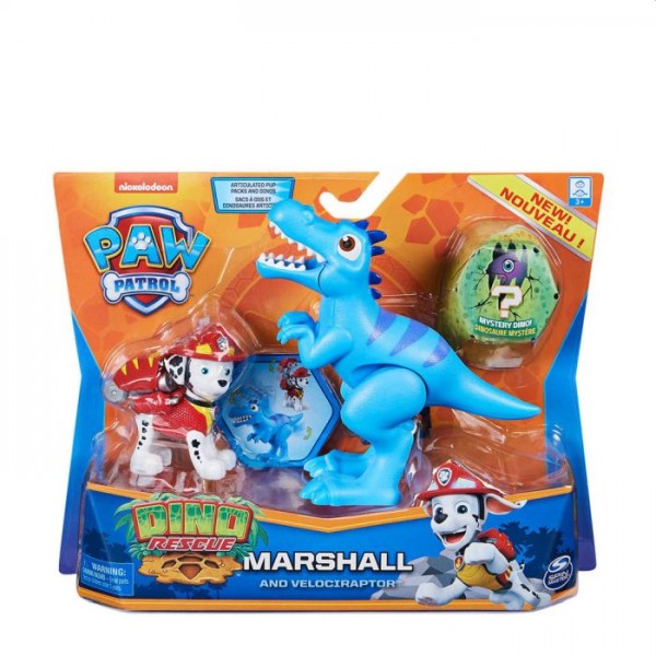 Paw Patrol dino action pack pup marschall
