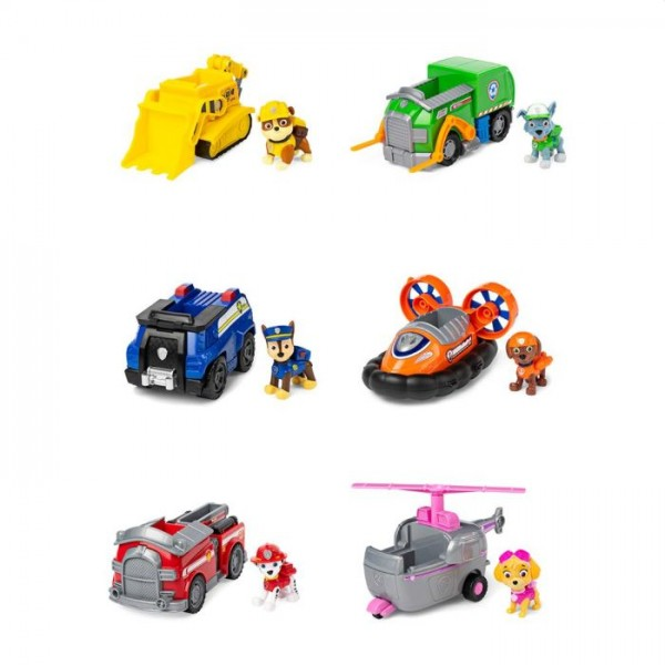 Paw Patrol Basic Vehicles Assortiment