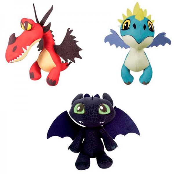 Pluche Dragons 26 cm