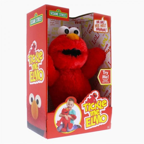 Elmo Pluche Kietel Me