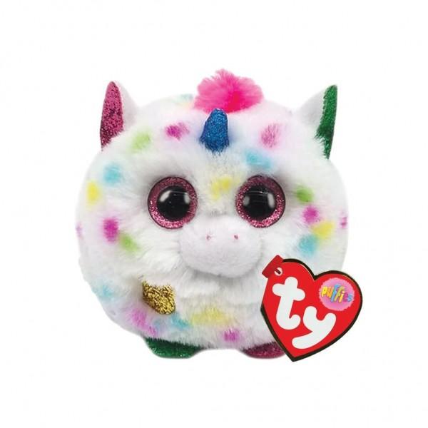 TY Teeny Puffies Harmony Unicorn