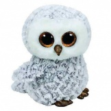 TY Beanie Witte Uil Owlette 24 Cm