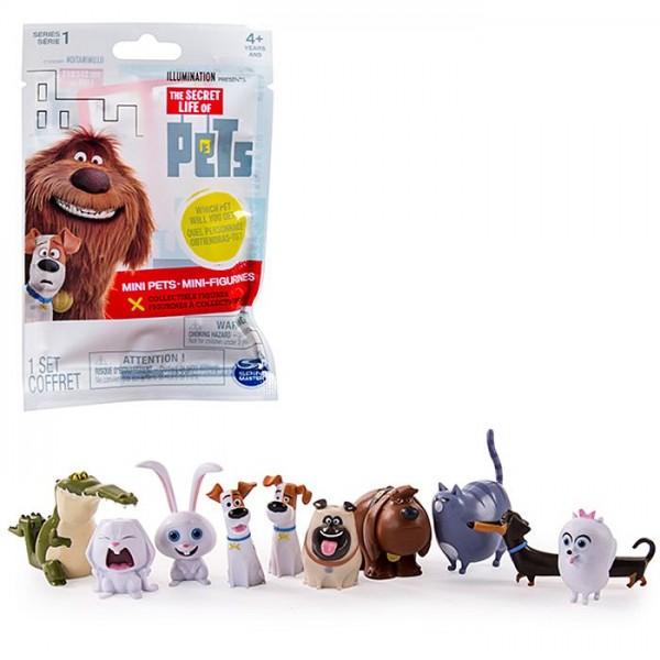 Secret Life Of Pets Verzamelfiguur Mini Pets 5 Cm