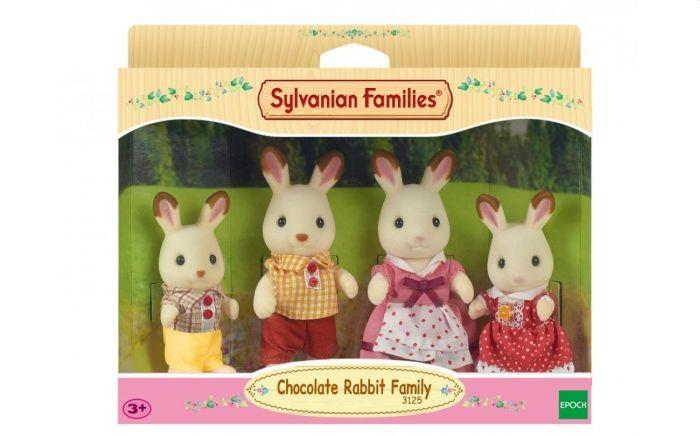 4150 Sylvanian families familie chocolade konijn