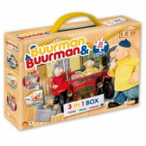 Buurman en Buurman 3in1 Box Puzzel, Memo en Domino