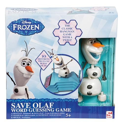 Spel Disney Frozen Red Olaf Woordraadsel