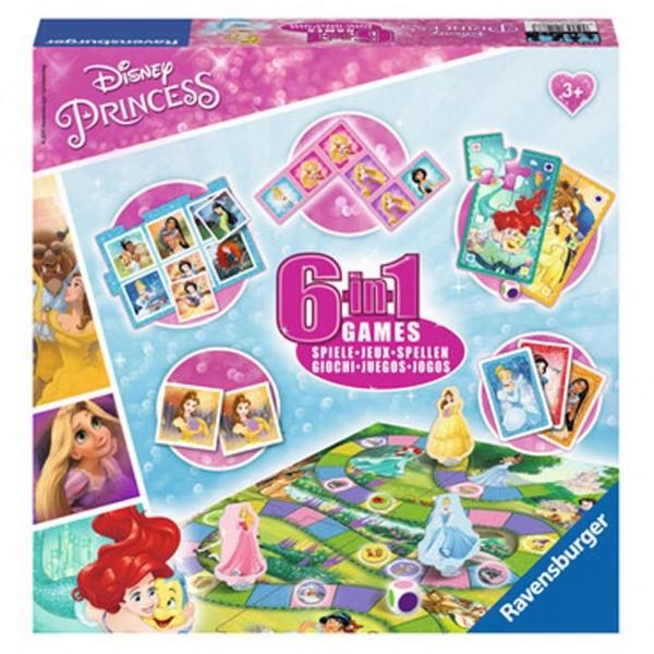 Ravensburger Spel Princess 6 In 1