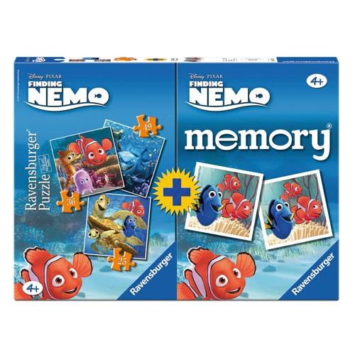 Ravensburger Spel Memory + puzzel Nemo