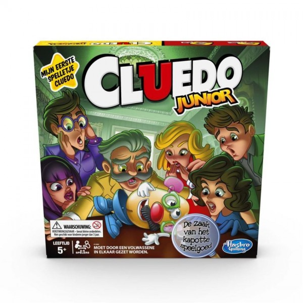 Spel Cluedo Junior Refresh