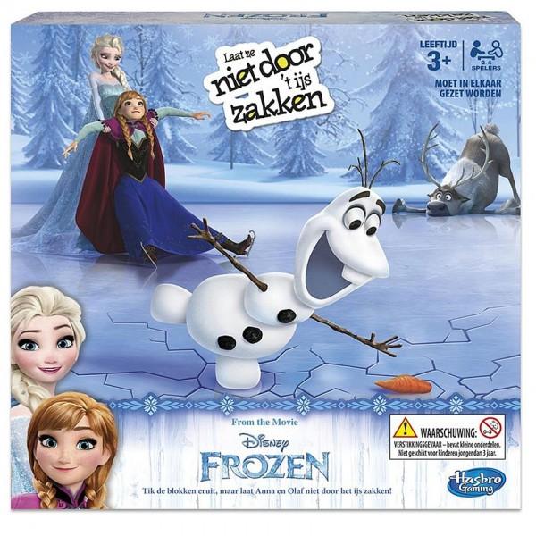 Spel Frozen Breek Het IJs Niet