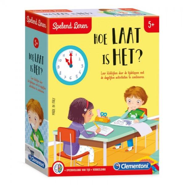 Clementoni Spelend Leren Hoe Laat is het? (NL)
