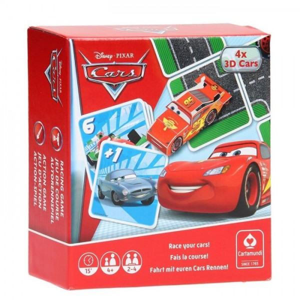 Cars Cartamundi Games Box