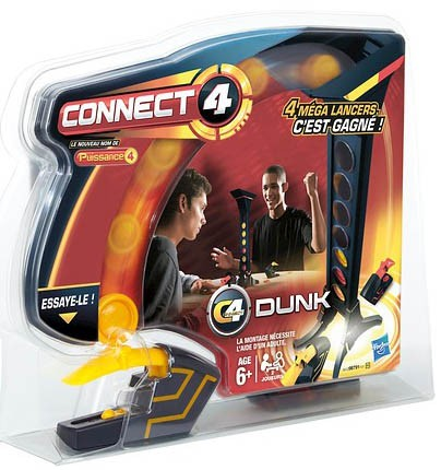 Spel Connect 4 Dunk