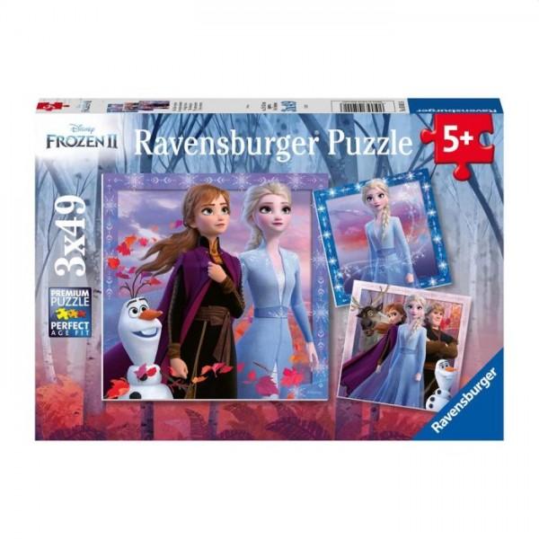 Ravensburger Puzzel Frozen 2 (3X49 Stukjes)