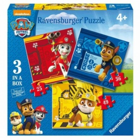 Ravensburger Paw Patrol Puzzel 3 In 1 (25+36+49)