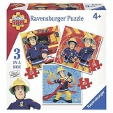 Ravensburger Puzzel Brandweerman Sam 3 In 1 (25, 36, 49)