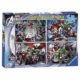 Ravensburger Puzzel Bumperpack Avengers (4x100)