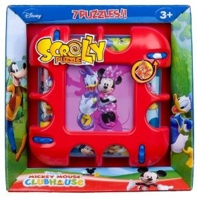 Puzzel scrolly disney mickey mouse clubhouse