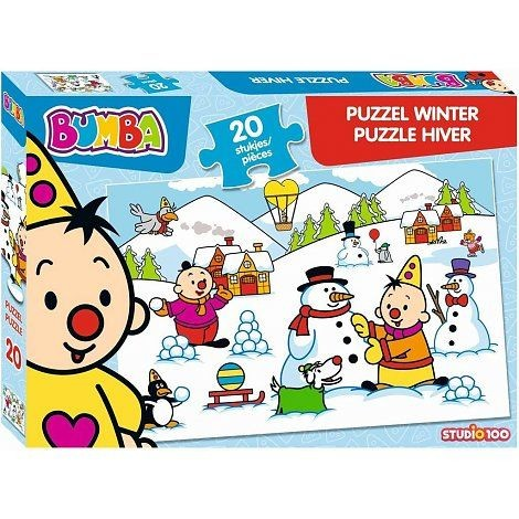 Bumba Winter Puzzel 20 Stukjes