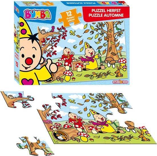 Bumba Herfst Puzzel 12 Stukjes