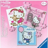 Puzzel Hello Kitty 3in1 (25+36+49)