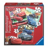 Ravensburger puzzel Cars 3 in 1 (25+36+49)