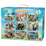 Puzzel 9in1 Animal Puzzel Pack
