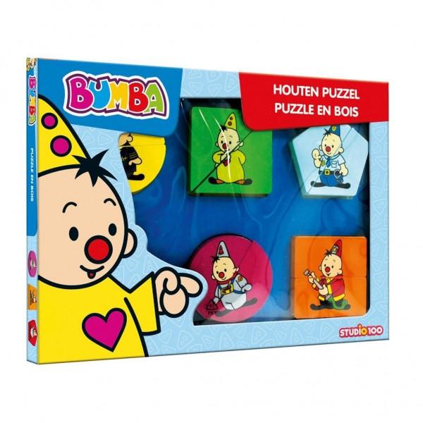 Bumba Houten Puzzel Met Dikke Stukken Beroepen