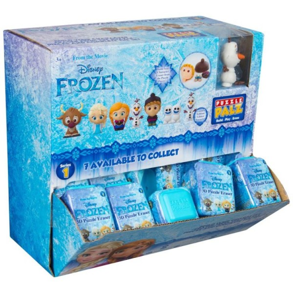 Frozen Gravity Feed 3D Puzzel Eraser
