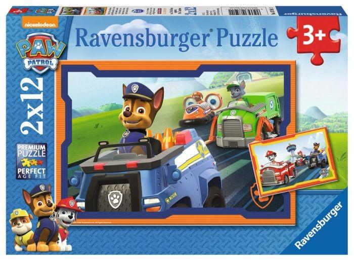 Ravensburger puzzel Paw Patrol in actie (2x12)