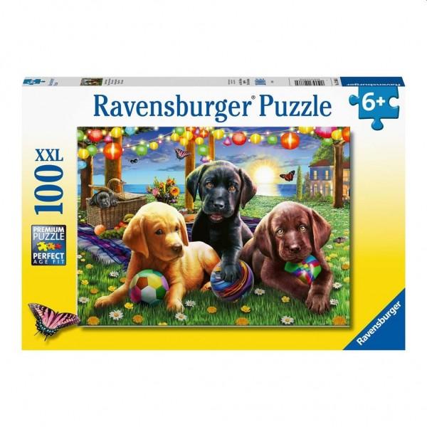 Ravensburger Puzzel Honden Picknick (100XXL)